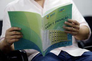 Primeira versão da revista Saúde e Inovação foi impressa, mas próximas serão on-line