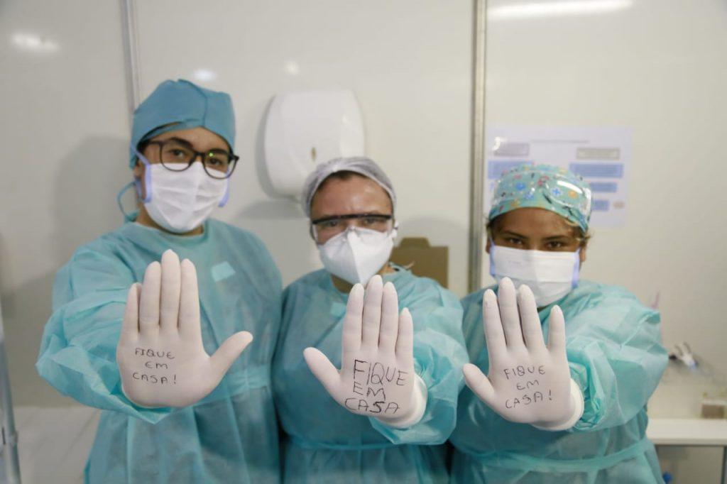Equipes se mobilizaram para enfrentar a pandemia do coronavírus no DF