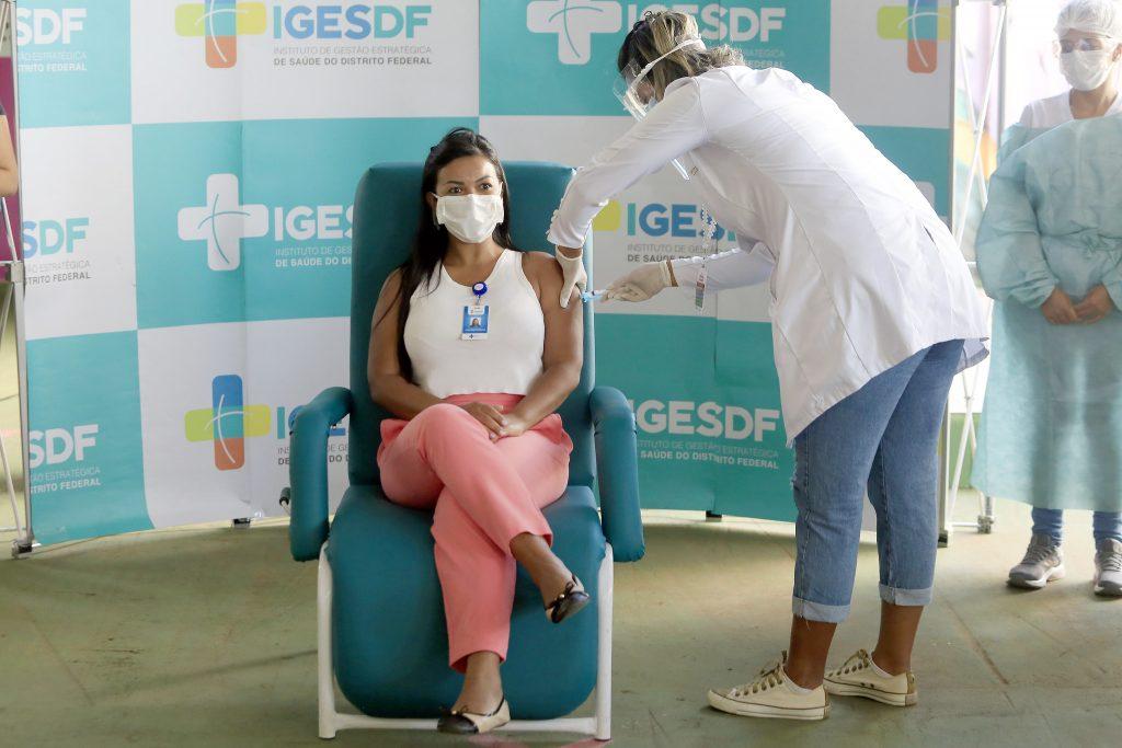 Enfermeira Josilene Cardoso Pereira, da UTI Covid