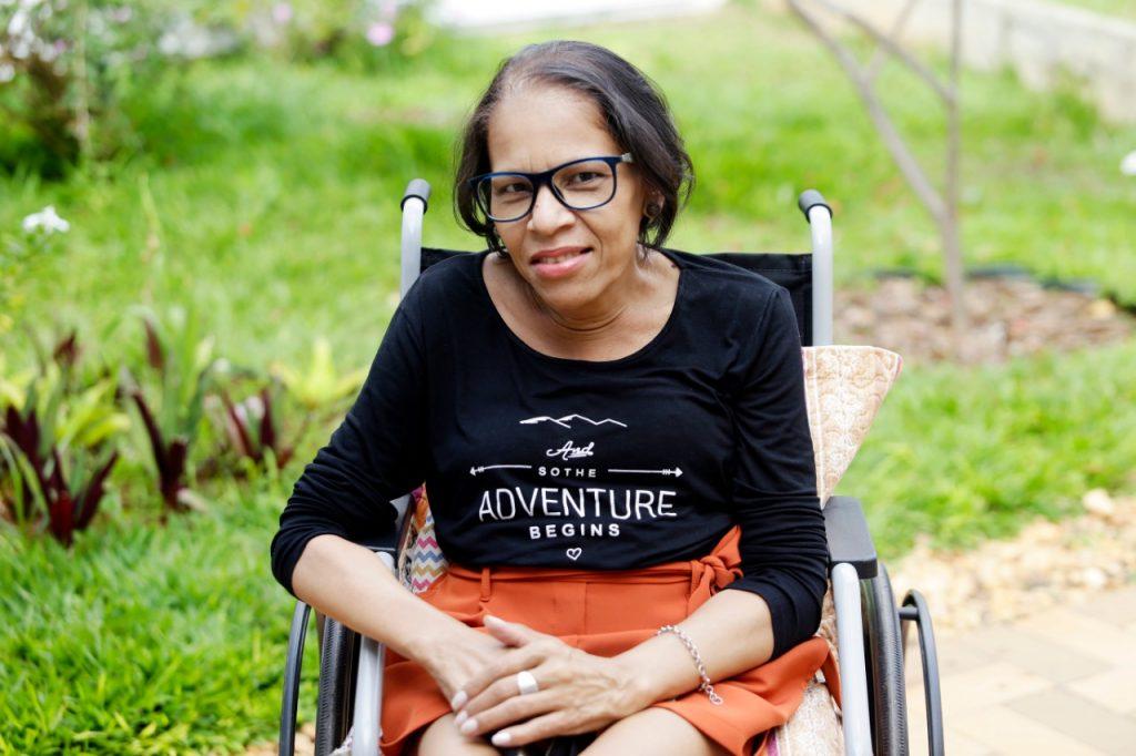 Com a ajuda de equipe multiprofissional de cuidados paliativos, a piauiense Eloilde lida melhor com os sentimentos provocados pelo tratamento do câncer