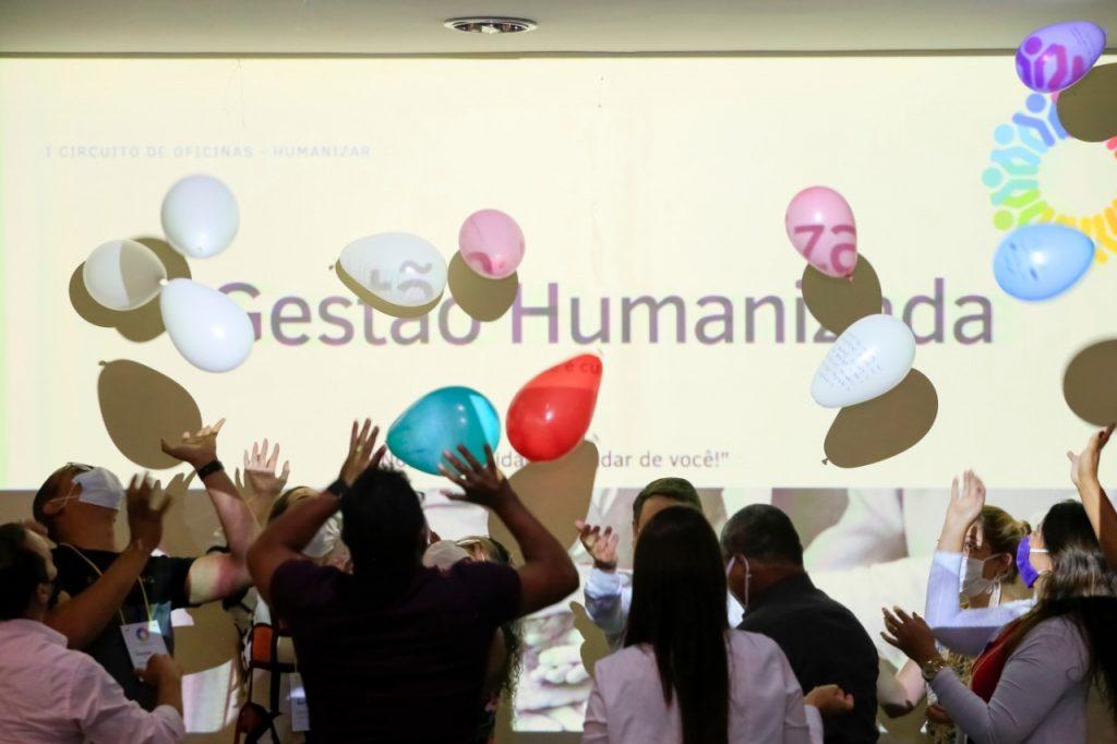 Gestores participaram de atividades lúdicas durante o evento