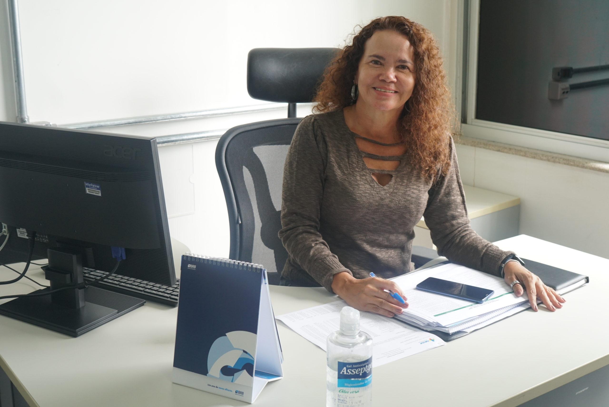 Nelma Louzeiro coordena a Assessoria de Relações Institucionais do Iges-DF