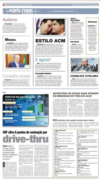 Brasília Agora – Página 4 – 01.02.2021