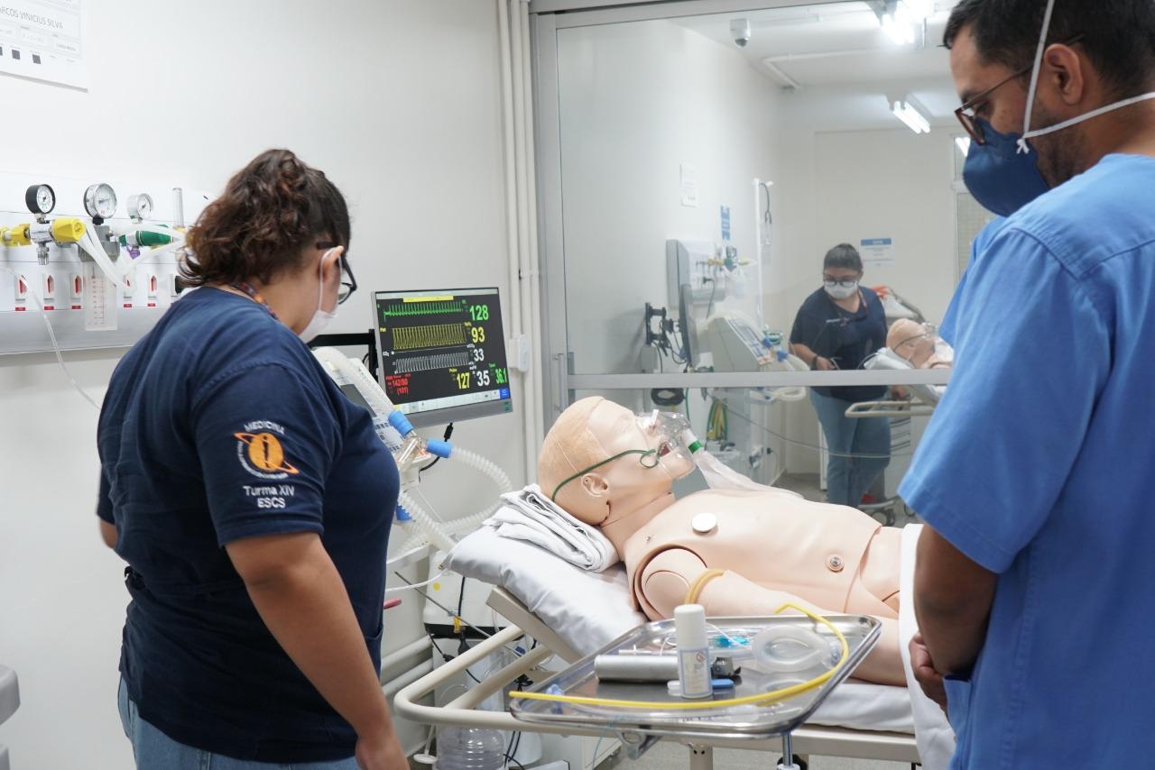 Testes ocorreram no Centro de Simulação Realística do Iges-DF