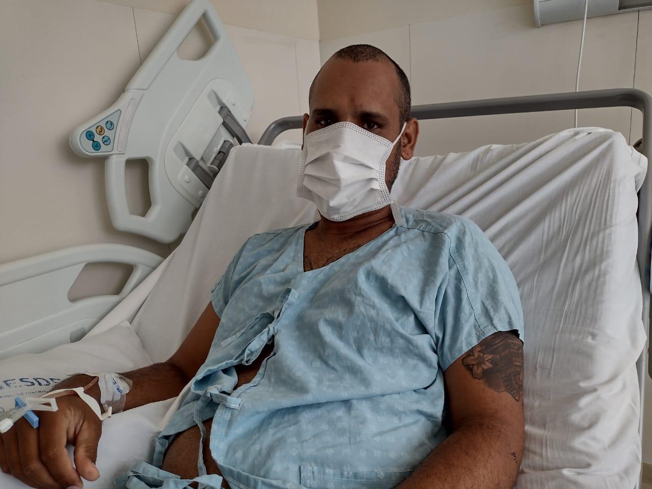 Carlos Alberto de Souza: atendimento rápido evitou necessidade de cirurgia