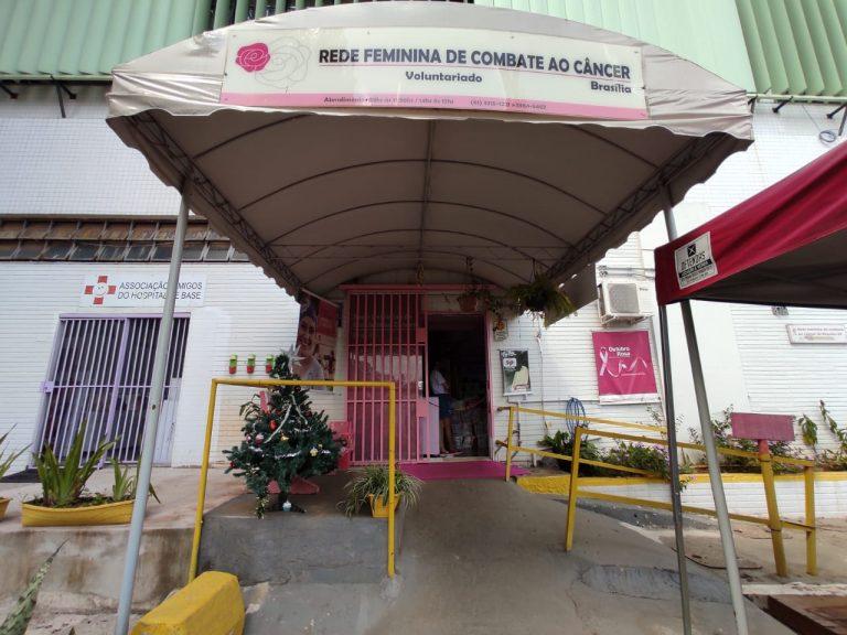 Sede da Rede Feminina, ao lado do heliponto do HB