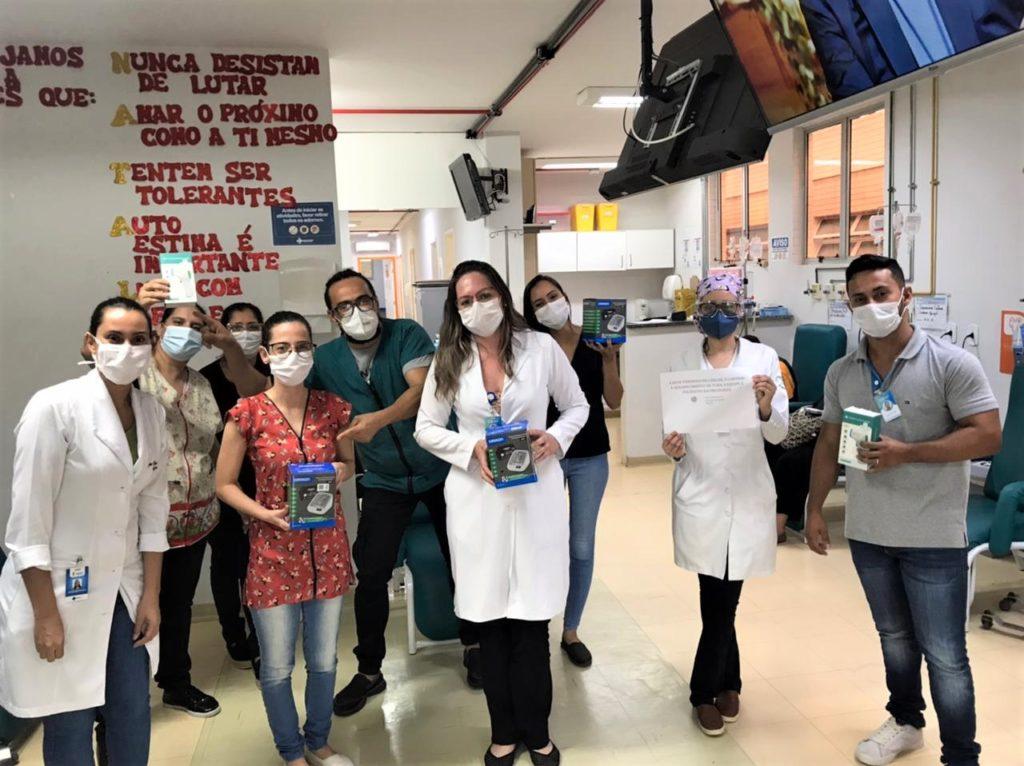 Equipe da Oncologia do Hospital de Base