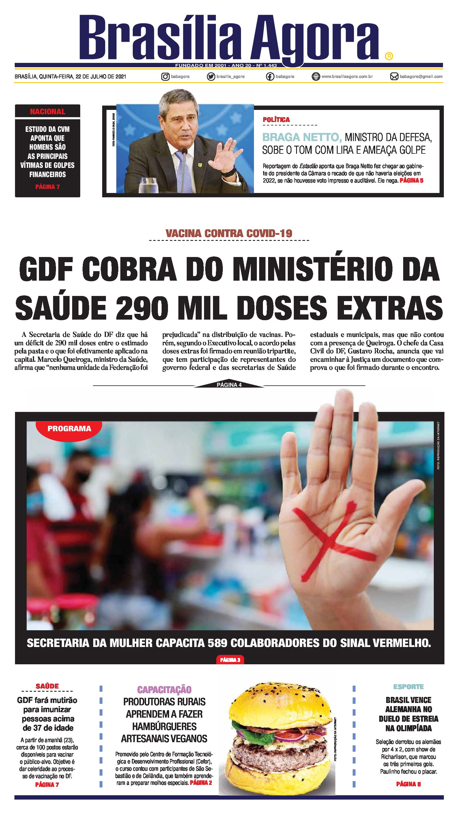Capa Brasília Agora_22.07.2021