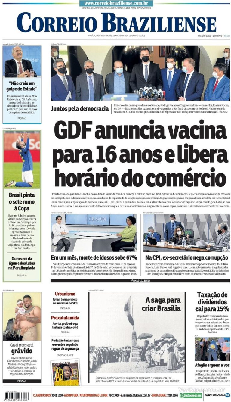 Capa Correio Braziliense_03.09.2021